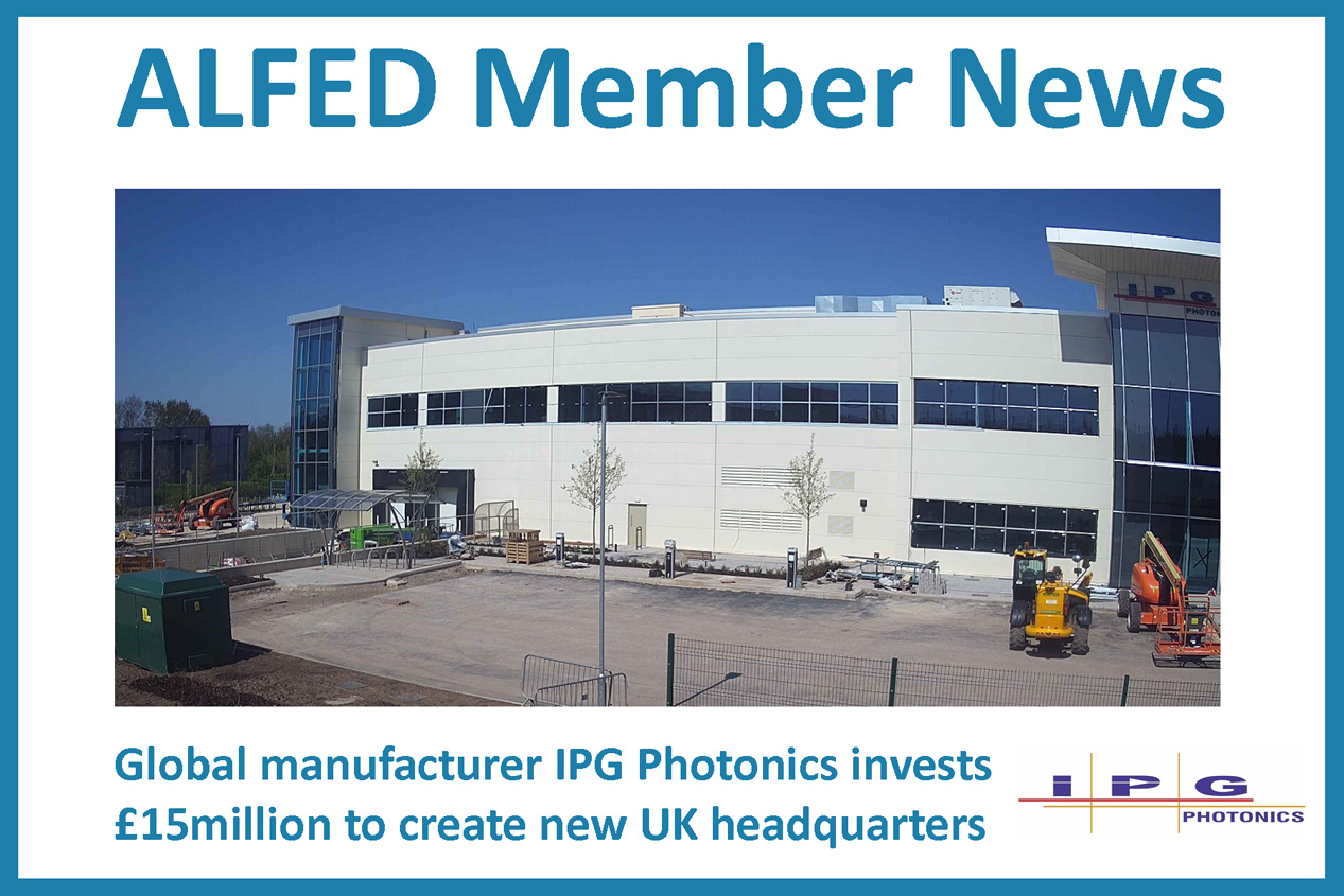 ALFED Members News: IPG Photonics