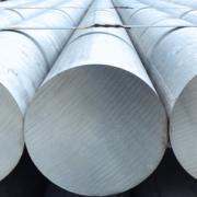 Heap-of-aluminium-bar-in-aluminum-profiles-factory