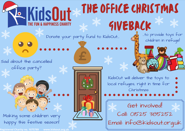 KidsOut charity - Christmas campaign