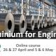 Aluminium for Engineers course