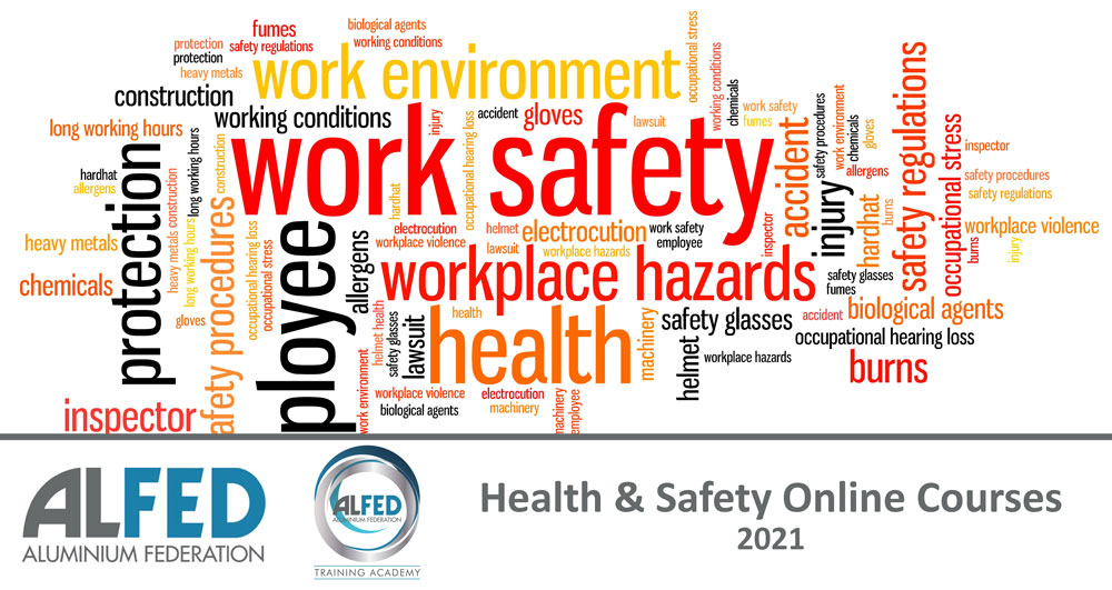 Health and safety courses 2021