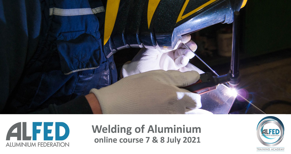 ALFED Welding of Aluminium Course