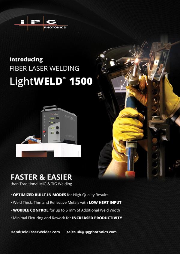 IPG laser welder