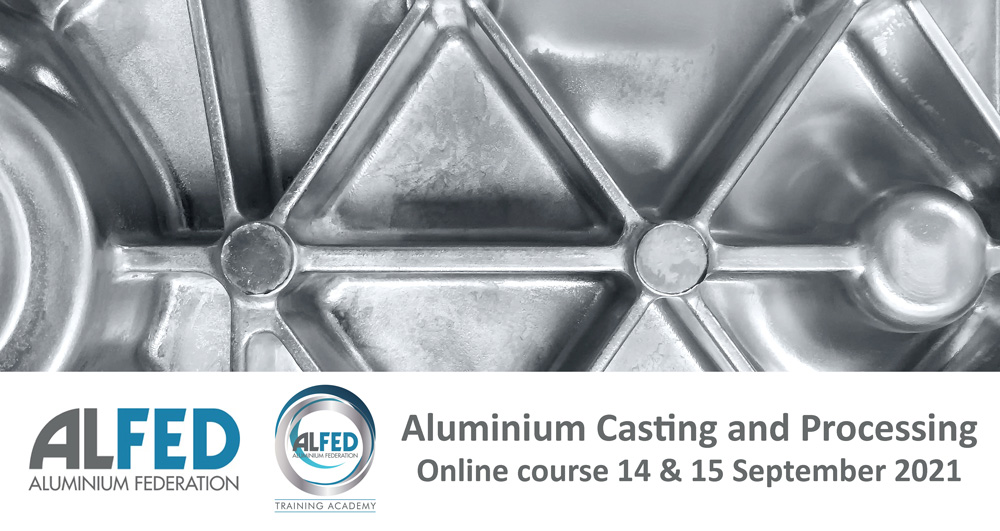 ALFED Aluminium Casting and Processing course